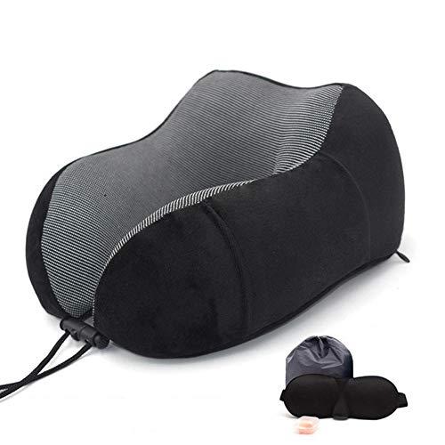 La Almohada en Forma de U Hecha de Espuma viscoelástica Puede acomodar una Almohada en Forma de U