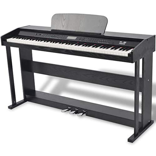 Best Prices! 88-key Digital Piano with Pedals Black Melamine Board