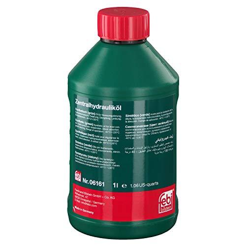 febi bilstein 06161 Hydrauliköl für die Zentralhydraulik, Servolenkung und Niveauregulierung , 1 Liter
