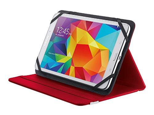 Trust Primo Etui Tablet Schutzhülle mit integriertem Ständer für 20,3 cm (8-Zoll) Tablet rot