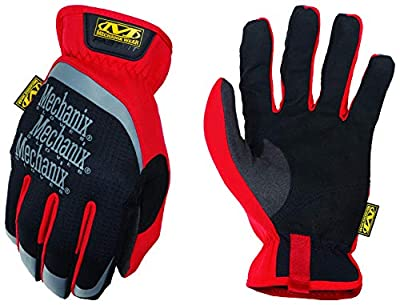 Mechanix Wear: FastFit Work Gloves (Small, Red)