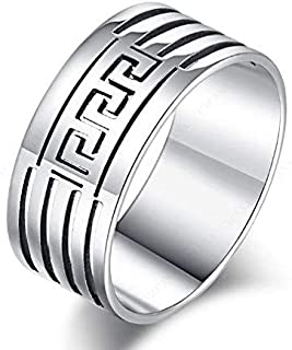 Unisex Silver Ring Size 11