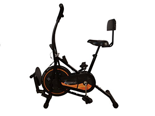 Body Maxx Benson Air Bike with Back Support & Twister 3 in 1