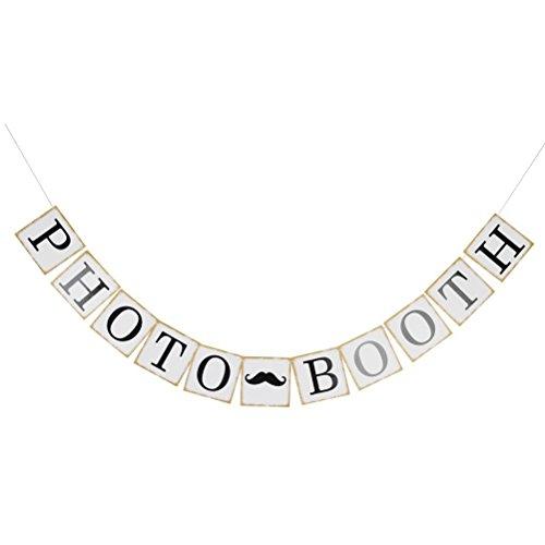 Pixnor Wimpelkette für Hochzeit, Geburtstag, Party, Dekoration, Foto-Requisiten