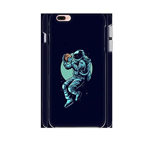 Generic con Sports Astronaut Guscio di Plastica Rigida per Bambino Individuale Compatibile con iPhone 4.7Inch 7 8