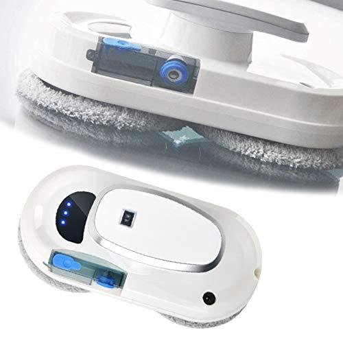 HNWTKJ Robot Nettoyeur de Vitres, Robot de Nettoyage Intelligent Mains Libres, Navigation Intelligente, Vitres, Surfaces Lises, Fenêtres Intérieures, Fenêtres Extérieures