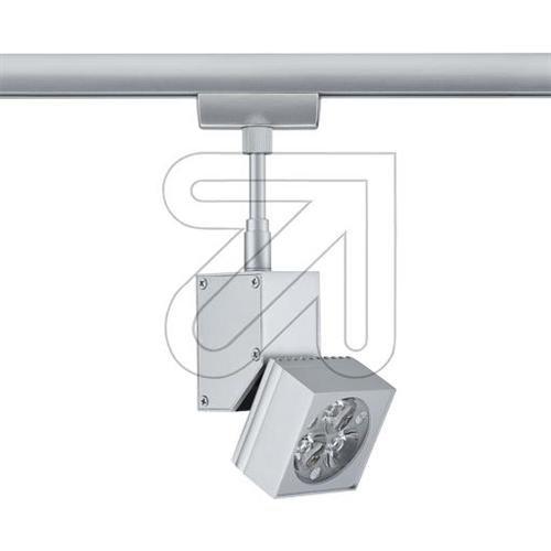 Paulmann 950.36corriente Sistema de raíles, metal, integrado, Plata