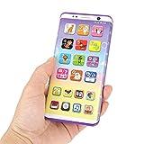 YOUTHINK Smartphone Giocattolo per Bambini, Educativo Multifunzione Fingere di Giocare Smart Phone Con Porta USB Touch Screen per Bambini Bambini Neonati