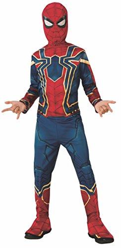 Rubie's Costume Ufficiale di Iron Spider di Avengers Infinity War, Spiderman, Costume per Bambini, Classico