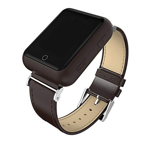 Gskj Anciano Reloj Inteligente Salud Inteligente Reloj De Frecuencia Cardíaca Impermeable GPS Posición Triple Llamada De Socorro Un Botón Pedir Ayuda Reloj Deportivo,C