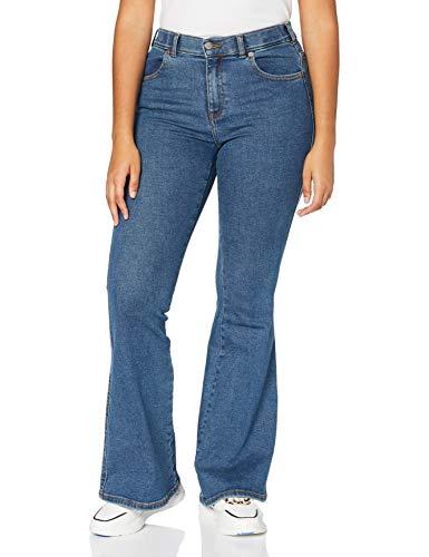 Dr. Denim Damen Macy Jeans, Stoker Blau, L