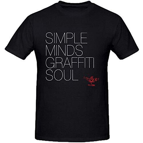 Simple Minds Gaffiti Soul T-shirt, XXL, 3XL