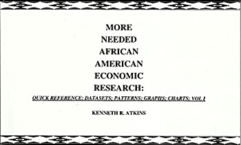 MORE NEEDED AFRICAN AMERICAN ECONOMIC RESEARCH  QUICK REFERENCE  DATASETS PATTERNS  GRAPHS  CHARTS