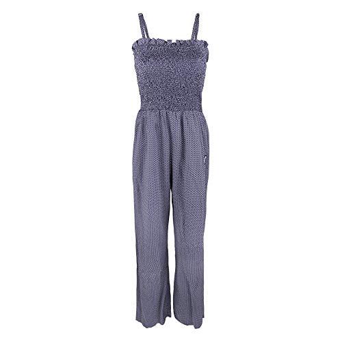 Alprausch W Tschömper Jumpsuit Blau, Damen Hose, Größe S - Farbe Pünktli Pattern