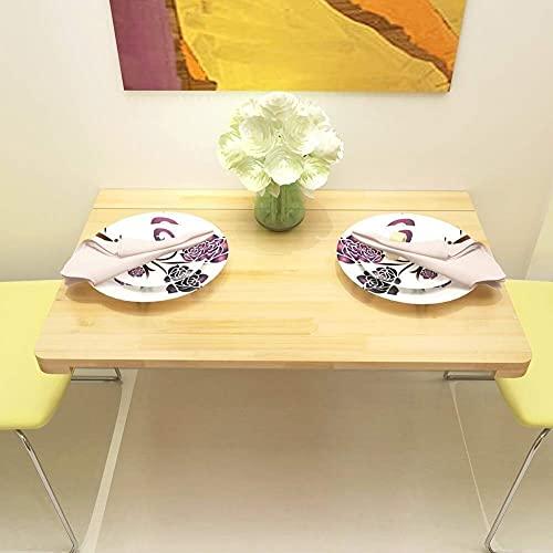 WECDS Mesas de café plegables para colgar en la pared, escritorio de escritorio, fácil de montar pequeñas mesas de café (tamaño: 120 50 cm)