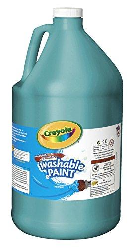 Crayola Washable Paint, Gallon, Turquoise