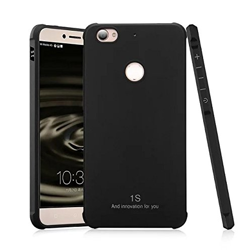 ZHENDAUS Kaixinuo LeTV Le 1S Case,Genuine Quality TPU Ultra Slim Protective Case Silicone Shockproof Cover for LeTV Le 1S (Color : Black, Pattern : Solid)