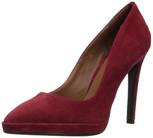Zapatos Mujer Salones Peep_Toes Lola Cruz 006p30bk Rojo 37