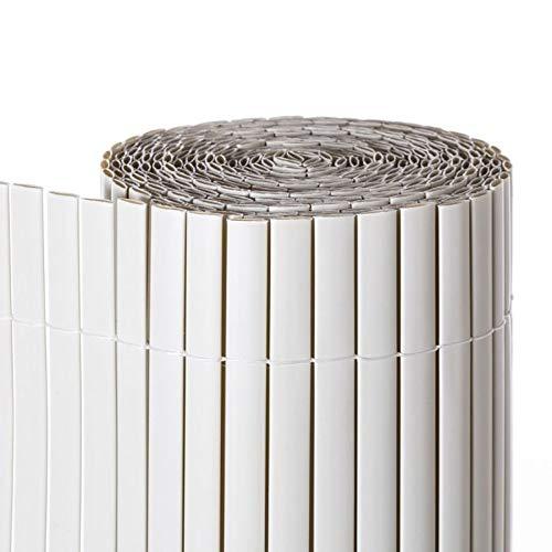 Comercial Candela CAÑIZO PVC Doble Cara Blanco 1.5X3 Metros