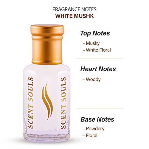 Scent Souls White Mushk Long Lasting Attar Fragrance Perfume Oil For Men & Women- 3 ml