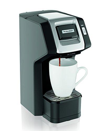 Hamilton Beach Commercial HDC311 Single-Serve Hospitality Coffee Maker, Black, 10.2 x 13.35 x 6.5 in
