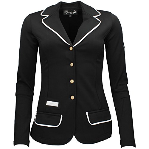 SPOOKS Turnierjacket Showjacket black Größe M
