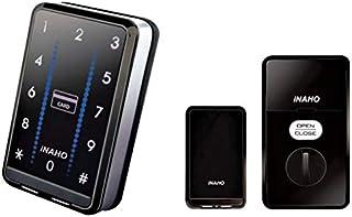 【インターロック 標準仕様】 iNAHO タッチパネル&非接触IC式電子錠 (純正カードキー 3枚付)