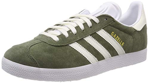 adidas Gazelle, Zapatillas para Hombre, Verde (Base Green/Off White/Footwear White 0), 39 1/3 EU