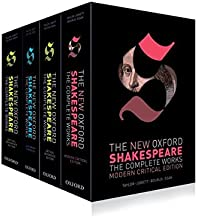 The New Oxford Shakespeare: Complete Set: Modern Critical Edition, Critical Reference Edition, Authorship Companion