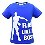 Emote Dances - Funny Gaming Parody Video Game Camiseta (azul2, 140(7-8 años))