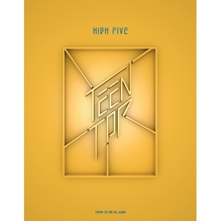 TEEN TOP - [High Five] 2nd Album OFFSTAGE ver CD+80p PhotoBook +1p PhotoCard K-POP Sealed teentop