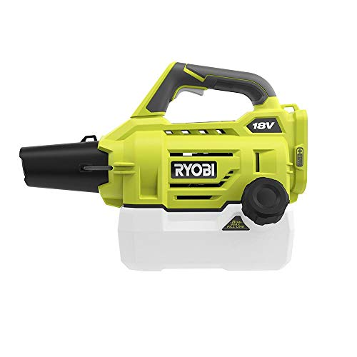 .RYOBI ONE.+18-Volt Lithium-Ion Cordless Fogger Mister, Lightweight and Portable Design, 1000 sq. ft. Coverage in Less Than a Minute! (Tool ONLY)