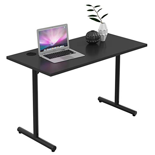 Sunon Rectangle Laminate Table Top Universal Wood Table Top for Home Office Desk/Sit Stand Desk/Computer Desk/Gaming Desk (Only Table Top, Cherry)