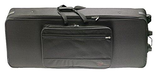 Stagg 19398 keyboard trolley-nylon tas zwart