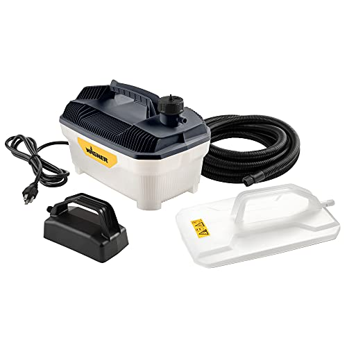 Wagner Spraytech 2418627 725 Wallpaper Steamer, Steam Cleaner for Easy Wallpaper Removal, 2 Steam Plates Included