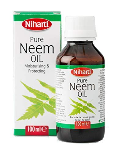 Niharti Huile de neem pure 100 ml
