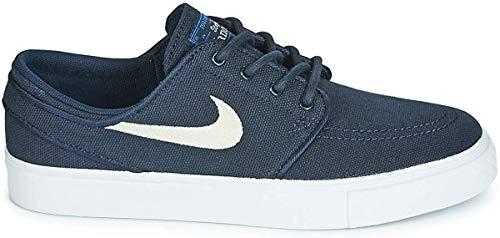 Nike Stefan Janoski GS Sneaker Kind Blau/Weiss - 38 - Sneaker Low