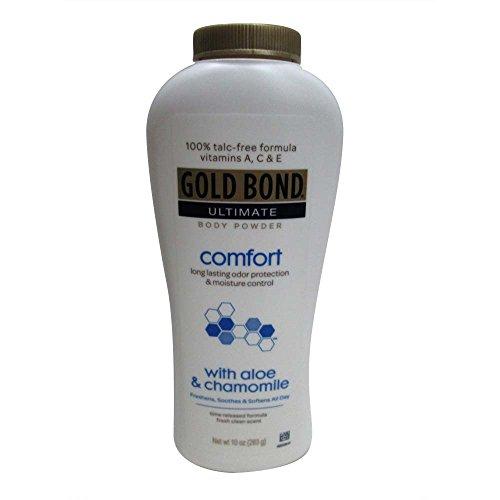 Gold Bond Ult Pwdd Size 10 Oz Gold Bond Ultimate Comfort Body Powder With Aloe