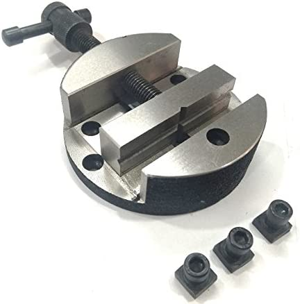 100 mm Round Vise Vice for 3 4 Rotary Table 3 Fixing Tee Nut Milling Engineering product image
