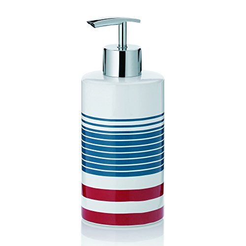 Price comparison product image kela Liquid Soap Dispenser Atlantic Collect,  Red, White,  Blue
