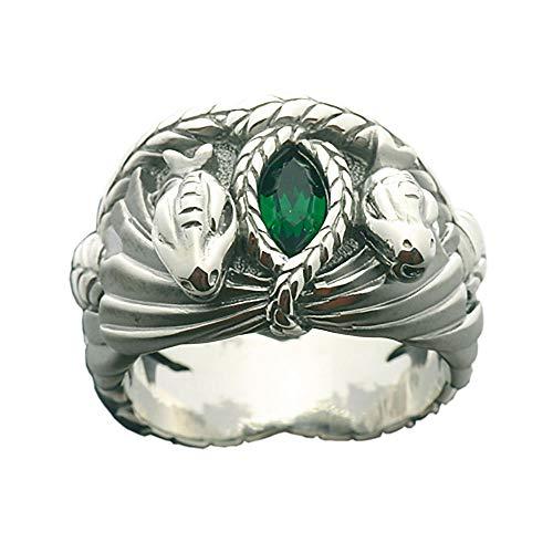 El Señor De Los Anillos, el anillo de Aragorn Barahir -, 925er plata, atractivo de los hombres joyas - 64