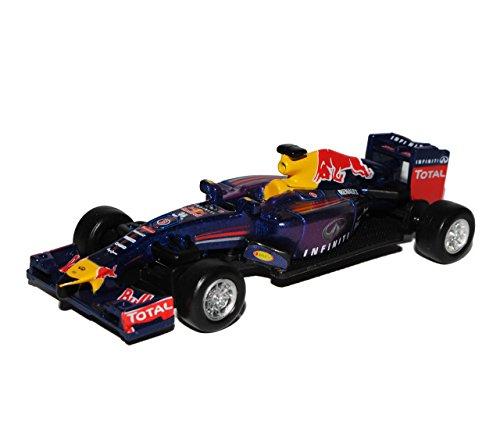 Bburago Sebastian Vettel RB9 Infiniti Red Bull Racing Team Formel 1 Weltmeister 2013 1/64 Modell Auto