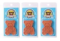Brown Sugar Bear オリジナル ブラウンシュガーセーバー 軟化剤 テラコッタ 3個セット