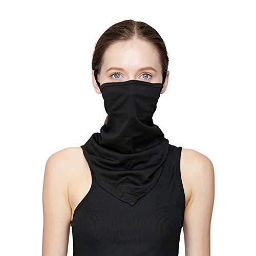 Nahtlose Bandana Face Shield Halstuch Schlauch Multifunktionstuch Schal Gesichtsmaske Balaclava, mit Filtertasche Flexibel Stirnband Kopftuch Neck Gaiter Mundschutz | UVSchutz Winddicht