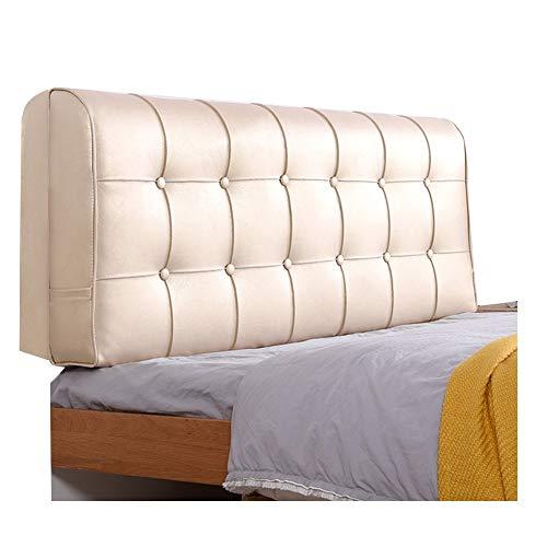 PENGFEI sänggavel säng ryggstöd kudde sängkläder stor ryggkudde ländrygg vård anti-kolliderar lätt att rengöra, 4 färger, 6 storlekar (färg: D, storlek: 160 cm)