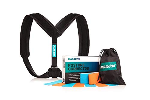 Posture Corrector – Adjustable Clavicle Brace to Comfortably Improve...