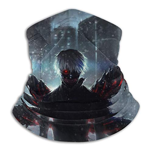 1366 Tokyo Ghoul - Pasamontañas unisex para el cuello, cálido, para el frío, invierno, deportes al aire libre, turbante