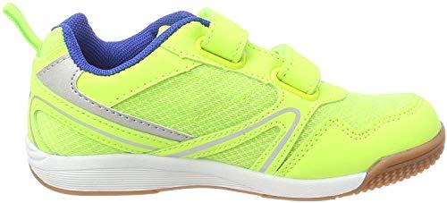 Lico Unisex-Kinder Boulder V Multisport Indoor Schuhe, Gelb (Lemon/Blau), 28 EU