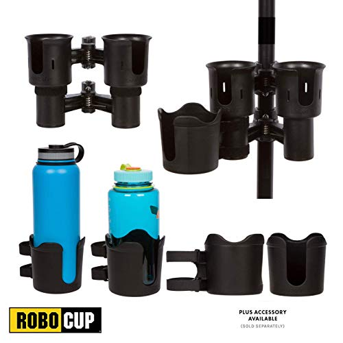 ROBOCUP 12 Colors, Best Cup Holder for Drinks, Fishing Rod/Pole, Boat, Beach Chair/Golf Cart/Wheelchair/Walker/Drum Sticks/Microphone Stand