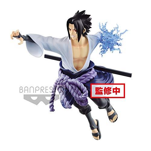 Naruto Shippuden - Statuetta della Collezione Uchiha Sasuke (Bandai 85456)